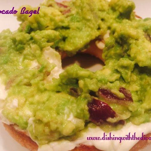 Avocado Snack Bagel